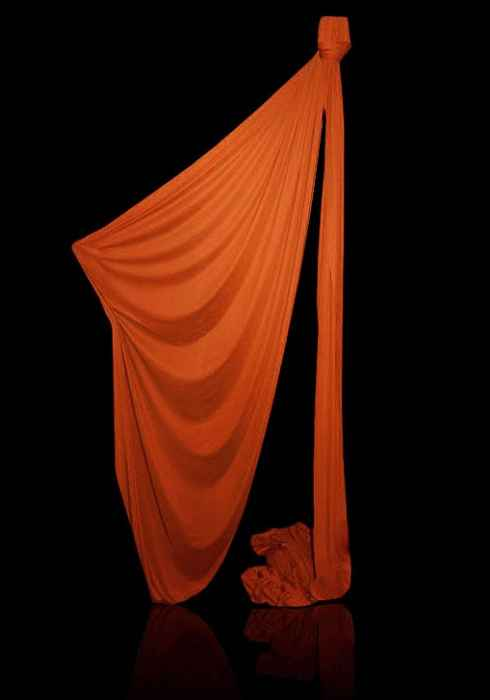 Vertikaltuch - Aerial Silk, Orange